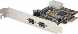 Kontroler Digitus PCIe x1 - 3x FireWire 800 (DS-30203-2)