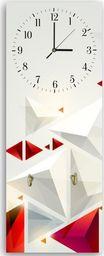 Feeby Wieszak ozdobny z zegarem, Abstrakcja 3 25x65