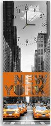 Feeby Wieszak ozdobny z zegarem, New York 25x65