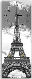 Feeby Wieszak ozdobny z zegarem, wieża Eiffla 25x65