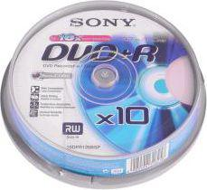 Sony DVD+R/10/Cake 4.7GB 16x