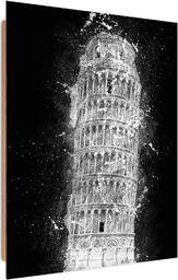 Feeby Deco Panel, Krzywa Wieża w Pizie nocą 50x70