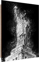 Feeby Deco Panel, Statua Wolności nocą  50x70