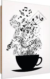 Feeby Deco Panel, Muzyczna Kawa  50x70