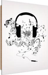 Feeby Deco Panel, Muzyczne słuchawki  50x70