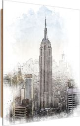 Feeby Deco Panel, Empire State Building 50x70