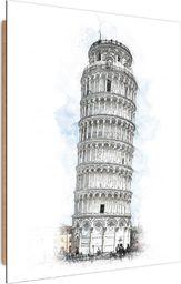 Feeby Deco Panel, Krzywa Wieża w Pizie  50x70