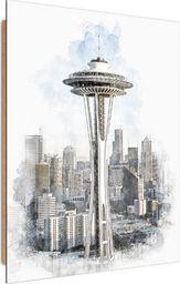 Feeby Deco Panel, Wieża Space Needle w Seattle  50x70