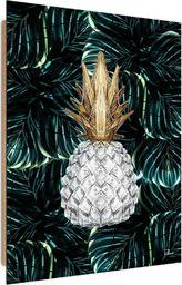 Feeby Deco Panel, Biały ananas  50x70