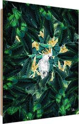 Feeby Deco Panel, Zielona kryjówka  50x70