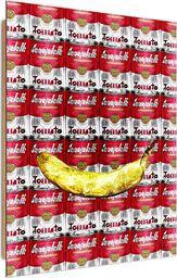 Feeby Deco Panel, Banan i puszki  50x70