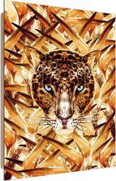 Feeby Deco Panel, Przyczajony Jaguar  50x70