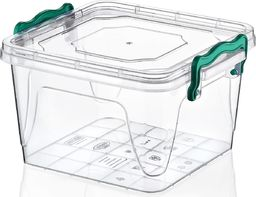 Chomik Pojemnik plastikowy kwadratowy 1,2L MULTIBOX uniwersalny