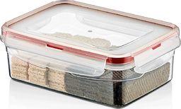 Chomik Pojemnik plastikowy prostokątny 800ml SAVER BOX uniwersalny