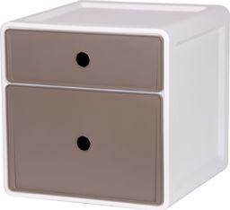 EDA Szafka 2 szuflady ciemno-szare uniwersalny