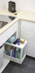 EDA Mobilna półka do szafki biała uniwersalny