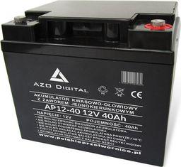 AZO Digital Akumulator VRLA AGM bezobsługowy AP12-40 12V 40Ah