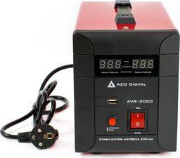 AZO Digital stabilizator napięcia AVR-2000 2000VA (AZO00D1116)
