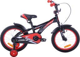 Fuzlu Rower dziecięcy 16 Fuzlu Racing czarno-czerwony uniwersalny