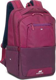 "Plecak RivaCase RIVACASE Suzuka 7767 Plecak laptop 15,6"" fioletowy uniwersalny"