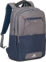 "Plecak RivaCase RIVACASE Suzuka 7777 Plecak laptop 17,3"" szary uniwersalny"