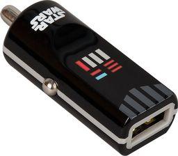 Ładowarka Tribe TRIBE Gwiezdne Wojny Ładowarka samochodowa Buddy 1 USB Darth Vader uniwersalny