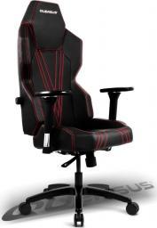 Fotel Quersus GEOS 703 (Czarno-Czerwony)