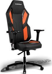 Fotel Quersus VAOS 502 (Czarno-Pomarańczowy)