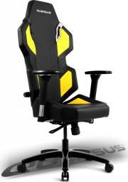 Fotel Quersus Fotel QUERSUS EVOS 302 (Czarno- Żółty)