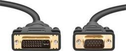 Kabel PremiumCord DVI D-Sub (VGA), 2m, Czarny (kpdvi1a2)
