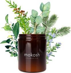 """Mokosh Roślinna świeca sojowa """"Sielska łąka"""" 140 g (słoik szklany)"""