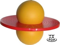 Akson Piłka do skakania UFO żółta uniw