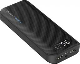 Powerbank Xlayer Pure Carbon Black 15000mAh