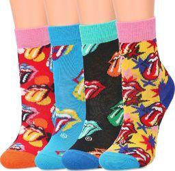 Happy Socks Happy Socks 4-Pack - Skarpety Dziecięce - XKRLS09-0100 22/24
