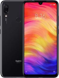 Smartfon Xiaomi Redmi Note 7 128GB Dual SIM Czarny  (Redmi Note 7 128GB/4GB Black)