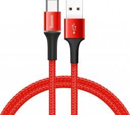 Kabel USB Baseus CATGH-A09 (USB 3.0 typu C M - USB 2.0 M; 0,50m; kolor czerwony)