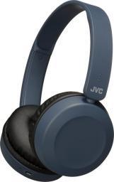 Słuchawki JVC HA-S31BT-A (nauszne; Bluetooth; z wbudowanym mikrofonem; kolor niebieski)