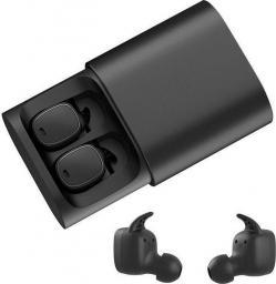 Słuchawki QCY T1 PRO 017898 (dokanałowe; Bluetooth; z wbudowanym mikrofonem; kolor czarny)