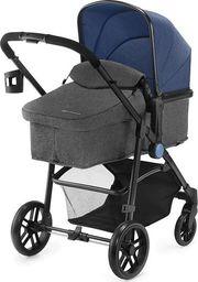 Wózek KinderKraft Wózek wielofunkcyjny 3w1 Juli niebieski