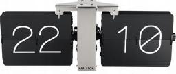 Karlsson Zegar Klapkowe KARLSSON No Case KA5601BK (kolor czarny)