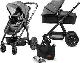 Wózek KinderKraft Wózek wielofunkcyjny 2w1 Veo black/gray
