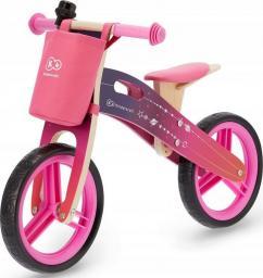 KinderKraft  Rowerek biegowy Runner Galaxy pink z akcesoriami