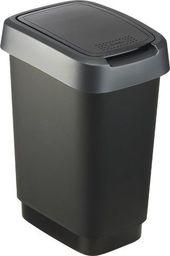 Kosz na śmieci Rotho 10L czarny (1754308850)