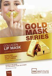 IDC Maseczka do twarzy Gold Collagen odżywiająca
