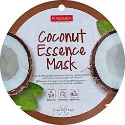Purederm Maseczka do twarzy Coconut Essence Mask nawilżająca 18g