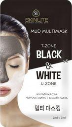 Skinlite Maseczka do twarzy Black&White oczyszczająca 14ml