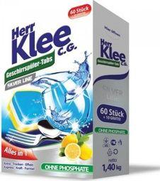 Herr Klee Tabletki do zmywarki Herr Klee C.G. Silver Line 70 sztuk uniwersalny