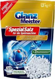 GlanzMeister Skompresowana sól do zmywarki GlanzMeister +Zn 1,2 kg uniwersalny