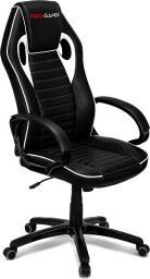 Fotel PRO-GAMER Flame Czarno-biały