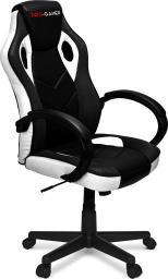 Fotel PRO-GAMER Pagani Czarno-biały